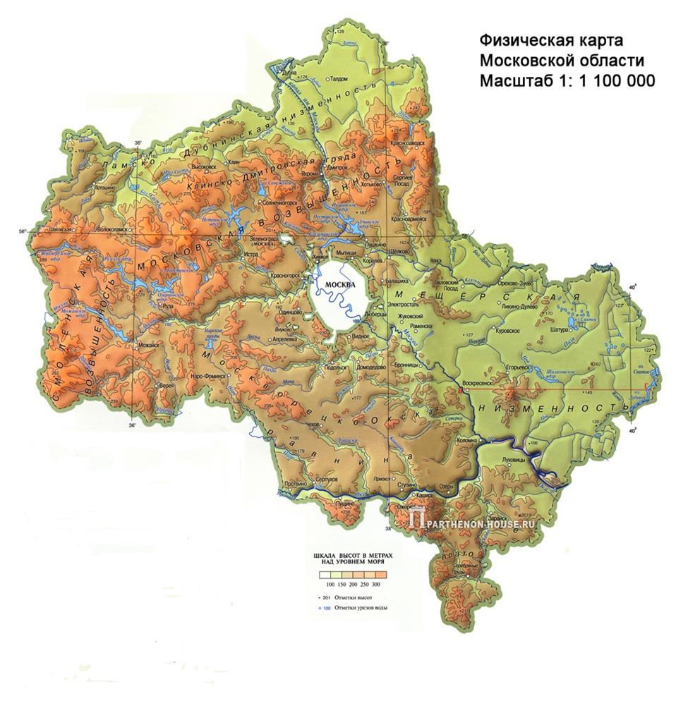 Земля московского региона: особенности